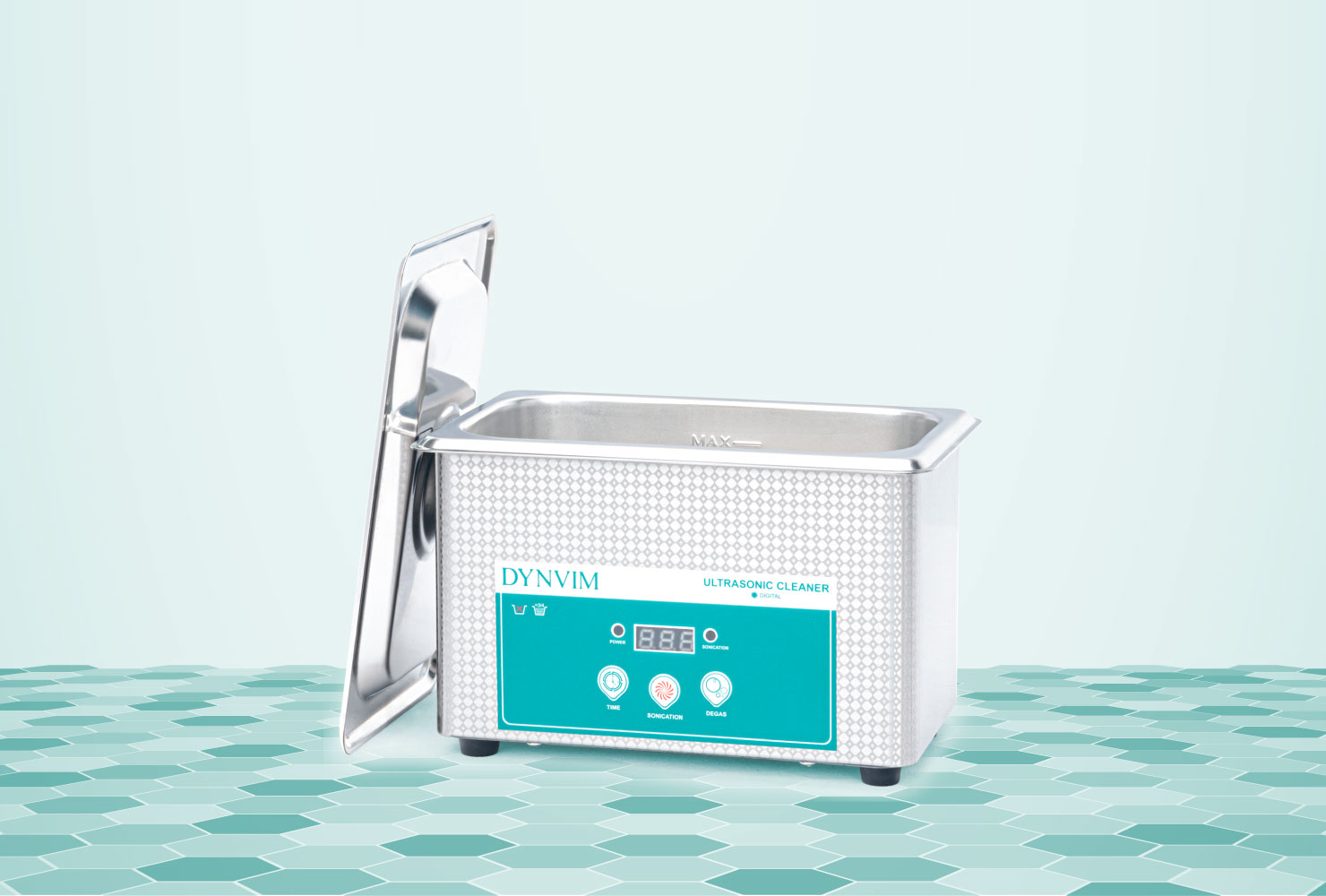 0.9L or 0.24Gal Ultrasonic Jewelry Cleaner